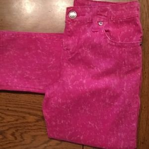 Request heathered Pink jeans size 16